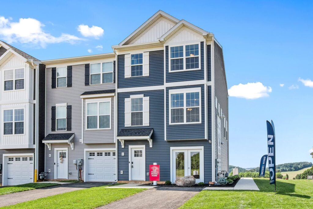 Burkentine enters Hudson Ridge Townhomes into the York Parade of Homes