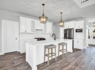 burkentine builders kitchen white cabinets farmhouse light