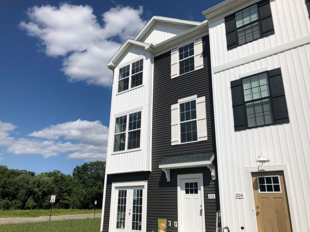 Our Brookside Townhome Model is Moving