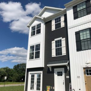 brookside townhome exterior