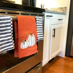 fall decor towels
