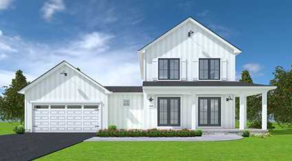 Burkentine Builders Hanover PA Farmhouse Series The Austin New custom home build
