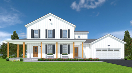 Burkentine Builders Hanover PA Farmhouse Series The Farmhouse new custom home build