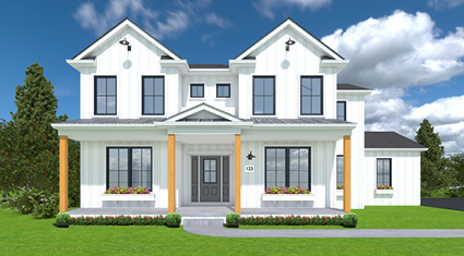 Burkentine Builders New Farmhouse Homes Hanover PA
