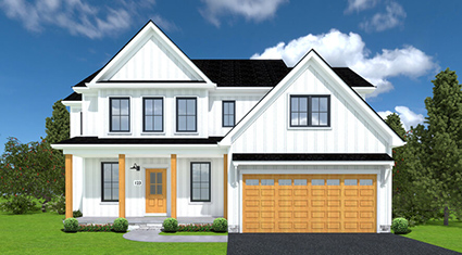Burkentine Builders Hanover PA Farmhouse Series The Nashville new custom home build