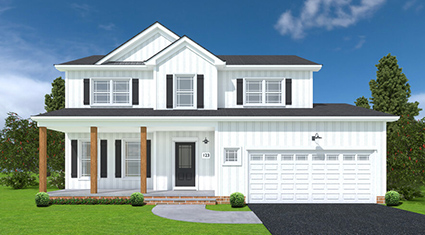 Burkentine Builders Hanover PA Farmhouse Series The Springfield new custom home build