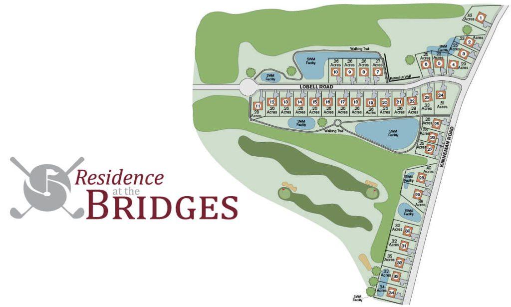 Residence at the Bridges Plot Plan_Burkentine Builders