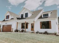 Salem White Farmhouse Home Builder Burkentine Hanover PA