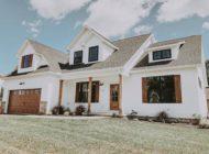 Salem White Farmhouse Home Builder Burkentine Hanover PA