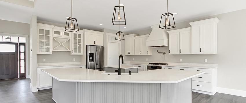 modern home builder magazine burkentine builders hanover pa white kitchen stainless steel appliances